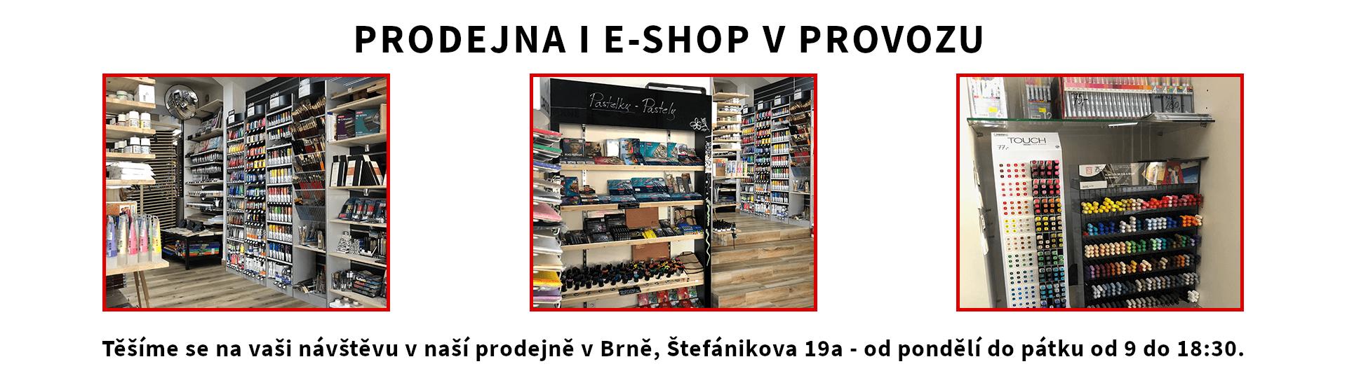 E-shop i prodejna v provozu