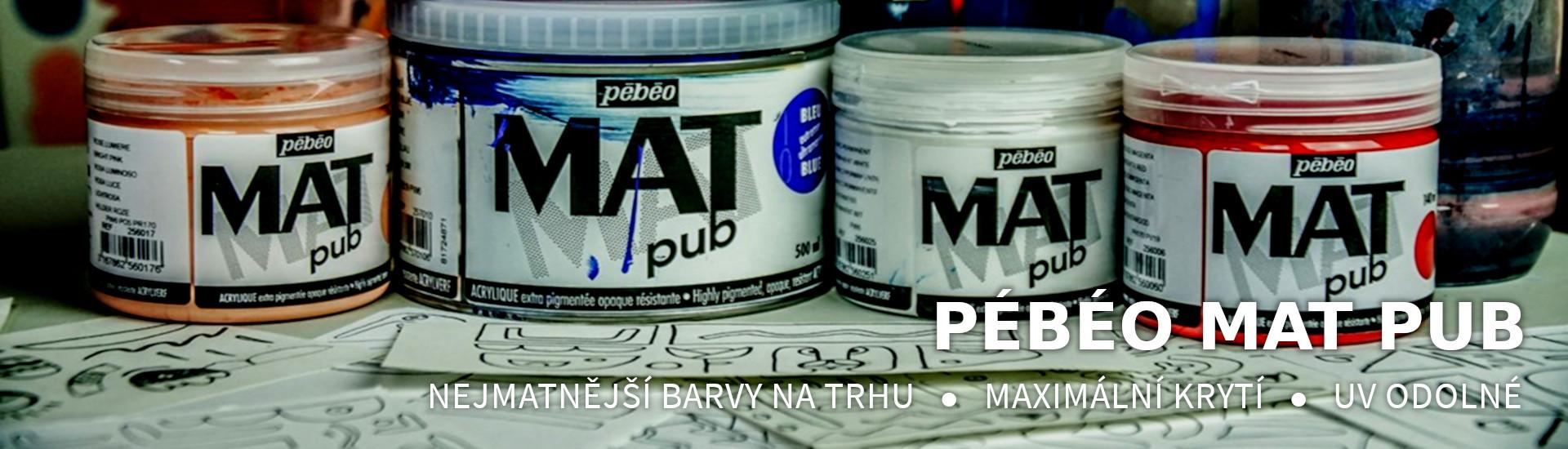 Pébéo MAT PUB