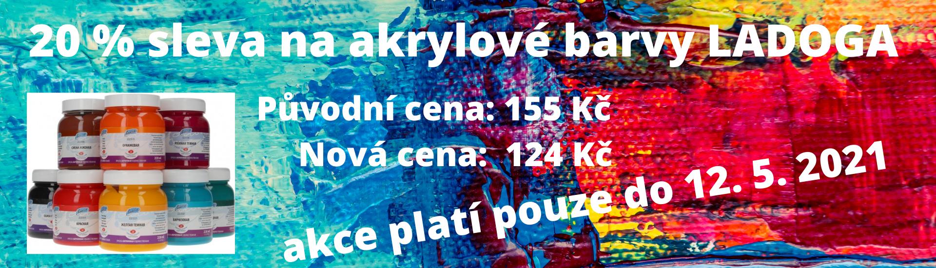 Akrylové barvy Ladoga