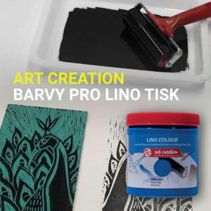 Mezi významné umělce. kteří si oblíbili techniku linorytu, patří také Josef Čapek 👉 Například pro svého bratra Karla navrhl linoryty na obálky her Loupežník a R.U.R. 🤖   Vodou ředitelná linoleum barva ART CREATION má vynikající krycí schopnost a je vysoce pigmentovaná a světlostálá 👉 Vyberte si svou oblíbenou a pusťte se do tvorby! 🎨 . . . #art #illustration #artwork #drawing #drawings #handdrawn #drawingsketch #artdrawing #artistic #provytvarnikycz #provytvarniky #artcreation #painting #paint #design #paintathome #instaart #modernart #dnestvorim #umění #artequipment #lineart #linocut  #linoprint #linoleumprint #printmaking #print #linoryt #handprinted