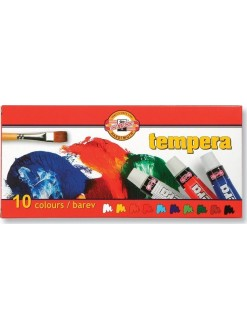 KOH-I-NOOR souprava temperových barev 10x10 ml