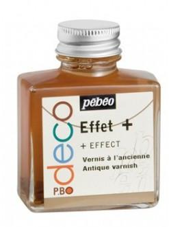 Pébéo déco Effect+ Antický lak 75 ml