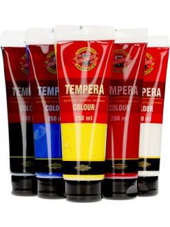 KOH-I-NOOR tempera 250 ml - různé barvy