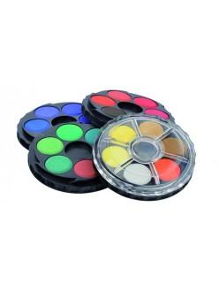 KOH-I-NOOR Barvy vodové kulaté – 24 odstínů