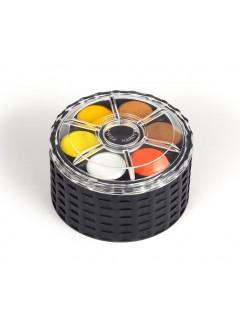 KOH-I-NOOR Barvy vodové kulaté – 36 odstínů