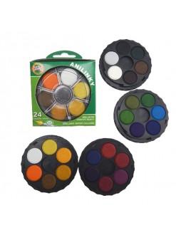 KOH-I-NOOR Anilinky vodové barvy, 24 barev