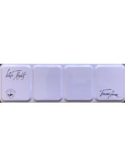 White Nights akvarelové barvy MetalBox fialový box 21 ks