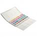White Nights akvarelový set, 36 barev v plastovém boxu IWS