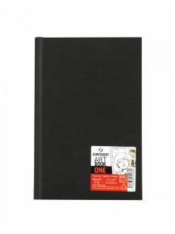 Canson Art book one 14 x 21,6 cm, 98 listů, 100g/m, tvrdé desky, lepená vazba