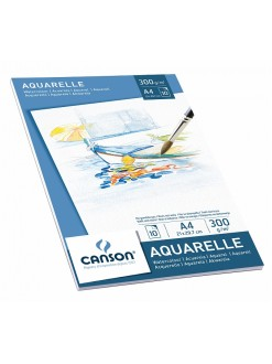 Canson skicák aquarellový 10 listů, 300g, A4