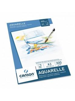 Canson skicák aquarellový 10listů, 300g, A3