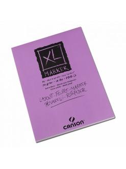 Canson XL Marker blok (bílý, A4, 100 archů, 70 g)