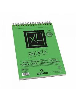Canson XL Recyklovaný skicák krouž.vazba(50archů,bílý,A4)
