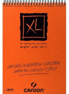 Canson XL Skicák v krouž.vazbě(krémový,A3,120archů)