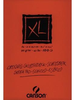 Canson XL Skicák lep. vazba (krémový,A4,100archů)
