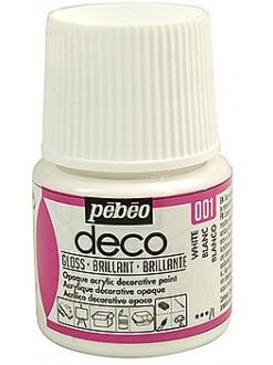 PÉBÉO DÉCO Akrylová barva 45 ml Lesk tekutá