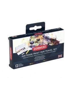 Derwent Inktense paint pan set 12 ks