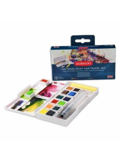 Derwent Inktense paint pan set 12 ks