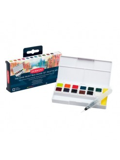 Derwent Inktense paint pan set 12 ks #2