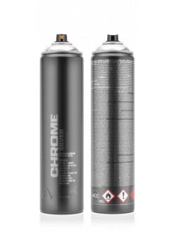Montana akrylový sprej Silverchrome 600 ml