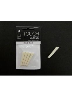 TOUCH - sada výměnných hrotů- Broad (6mm), 5 ks
