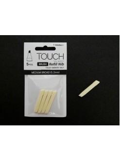 TOUCH - sada výměnných hrotů- medium Broad (5,2mm), 5 ks