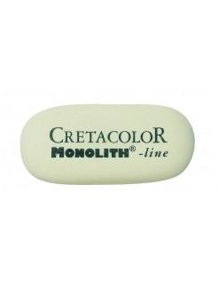 Cretacolor pryž mazací měkká bílá - velká