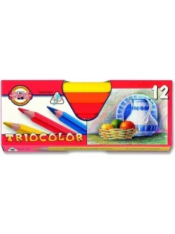 KOH-I-NOOR souprava pastelek 3HR N Triocolor 12 ks
