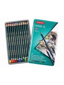 Derwent Artists - sada uměleckých pastelek, 12 ks