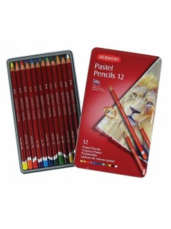 Derwent Pastel Pencils sada uměl. pastelek 12 kusů