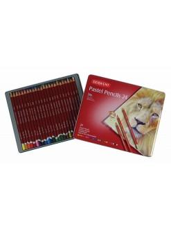 Derwent Pastel pencils - sada uměleckých pastelek, 24 kusů