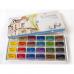 SONNET akvarelový set,  24 barev v miskách