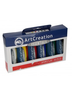Sada ART CREATION akryl 6 × 75 ml plastové tuby