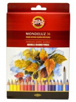 KOH-I-NOOR Mondeluz pastelky akvarelové 36 ks