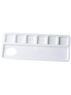 Malá umělohmotná paleta - 6 kalíšků