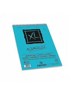 Canson XL Aquarelle skicák,kroužková vaz.(300g,A4,30archů)