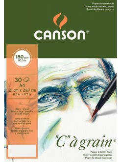 "Canson""C""à grain skicák,lepený 30 listů,180g,A4"