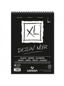 XL Dessin noir, černý skicák A3