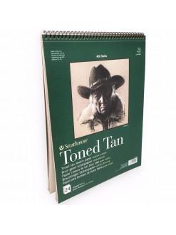 Strathmore Toned Tan pad 24 listů, 118g, 28x35 cm