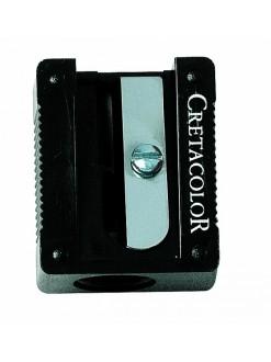 Cretacolor ořezávátko umělohmotné černé