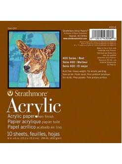 Strathmore acrylic pad 30,5x45,7 10 listů 400 g