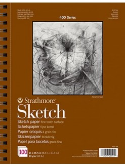 Strathmore sketch pad A4 100 listů 89 g