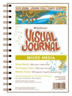 Strathmore mixed media Visual Journal 14x20,3 34 listů 190 g