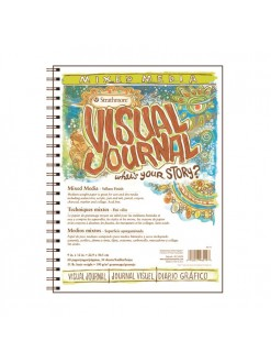 Strathmore 500 mixed media Visual Journal 23x30,5 34 listů 190 g