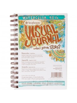 Strathmore 400 watercolor Visual Journal 14x20,3 34 listů 190 g