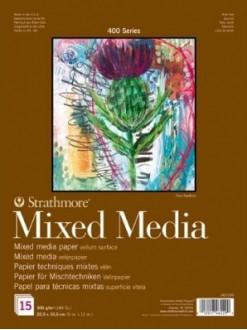 Strathmore Mixed Media Deník23x30,5,15listů,300g