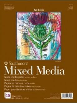 Strathmore Mixed Media Deník28x35,6 15 listů,300 g