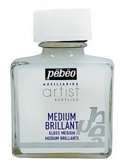 Lesklé médium pro akrylové barvy 75 ml