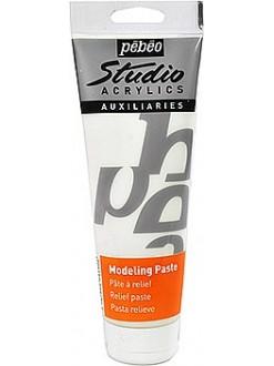 Pébéo Studio modelovací pasta pro akrylové barvy 250 ml
