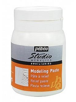 Pébéo Studio modelovací pasta pro akrylové barvy 500 ml